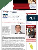 23-11-11 De las finanzas públicas y niveles de deuda riesgosos