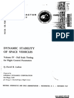 Dynamic Stability of Space Vehicle