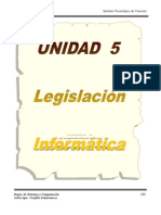 Unidad 5 Legislacion Informatica