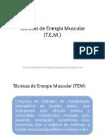 05 - Técnica de energia muscular