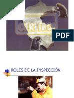 ROLES DE LAS INSPECCIÓN
