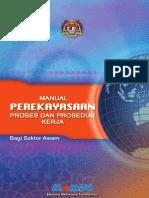Perekayasaan Proses & Prosedur Kerja bagi Sektor Awam