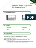 R036_How to configure a TesysT on Profibus with Siemens Step7