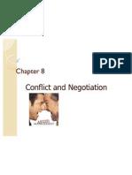 Conflict & Negotiation