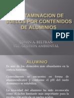 Contaminacion de Suelos Por Aluminios Edwin Beltran