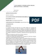 LA MATEMÁTICA EN EL DISEÑO Y CONSTRUCCIÓN DE  BRAZOS  HIDRÁULICOS PARA LA INDUSTRIA
