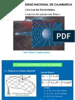 Electrostatica - Flujo Eléctrico y la Ley de Gauss