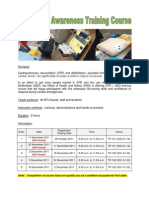 CPR AED Awareness Training Course