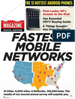 PC Magazine Fastest Mobile Network - August 2011