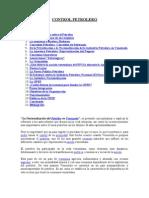Control Petrolero y Nacionalizacion Del Petroleo (Antecedendes y Situacion Actual)
