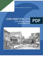 COMO VIVIR A UN MAREMOTO 11 Lecciones del Tsunami ocurrido en el sur de Chile el 22 de mayo de 1960