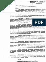 Resolución 618/11