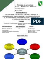 Proyecto de Aprendizaje 4to y 5to 2011 Modificado