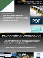 Aula 13 - Tarja de Medicamentos