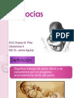 Expo Distocias GO II Dr Aguilar