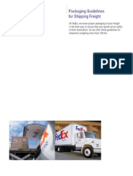 Freight Packaging Guidelines
