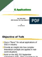 Doe Applications