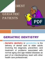 Resto Geriatric Dent
