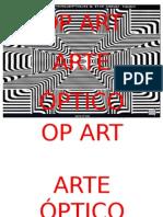 OP ART- PRESENTACIÓN