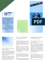 folleto trimestral