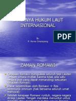 Lahirnya Hukum Laut Internasional