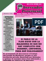 Observador Provincial - Octubre 2011
