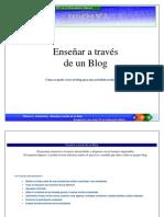 Instructivo para crear un Blog