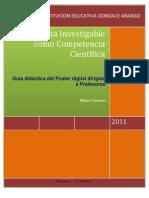 Guía didáctica del Poster Digital
