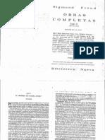 Freud - El Moisés de Miguel Ángel