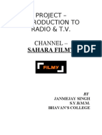 Radio and TV Filmy Hard Copy