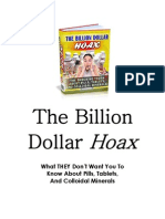 The Billion Dollar Hoax