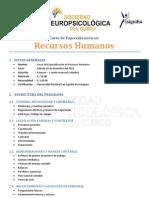 Curso de especialización en Recursos Humanos