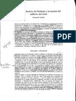 Danblon, Emmanuelle - La Nueva Retórica de Perelman y La Cuestión Del Auditorio Universal