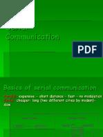 Serial Comm in 8051