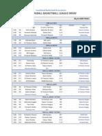 2011 Miniball League Draw - Week 9 SF