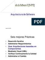 Vistas de Arquitectura de Software