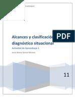 Alcances y clasificación del diagnóstico situaciona1