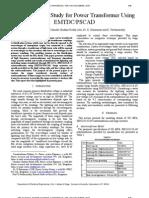 Auto Transformer Insulation Coordination Study