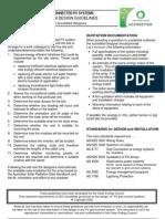 Grid Connect Design Guidelines CEC