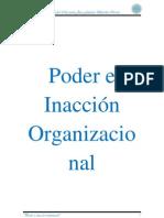 EL PODER2 y La Inaccion Organizacional