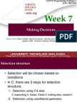 Week Selection C