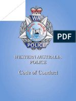 WAPolice Code of Conduct Sept08