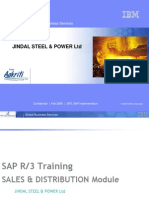 SAP Sale Training D1