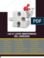 Resumenlibro Las 21 Leyes Irrefutables Del Liderazgo