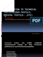 Introduction to Technical Textile, Medical Textile)