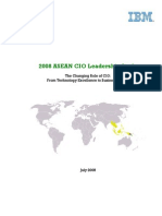 2008 ASEAN CIO Leadership Study