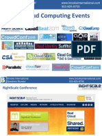Top Cloud Computing Events