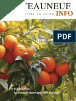 Lettre du Maire -2009-04