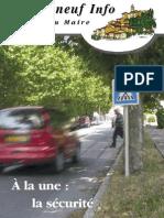 Lettre du Maire -2006-06