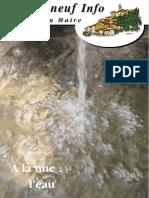 Lettre du Maire -2006-09